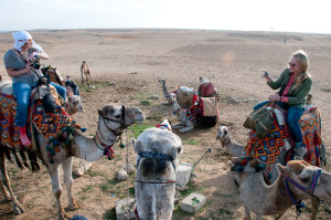 Telling Stories on the go in Egypt, photographed by Audrey Scott