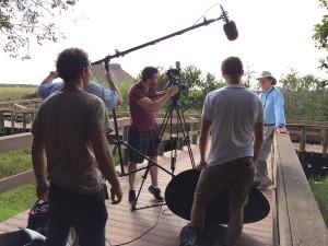 Filmgate Miami filming in the Everglades