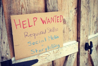 Help Wanted: Social Media and Storytelling Skills Required