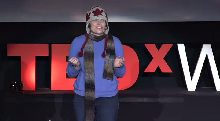 Erica Hargreave at TEDxWarsaw