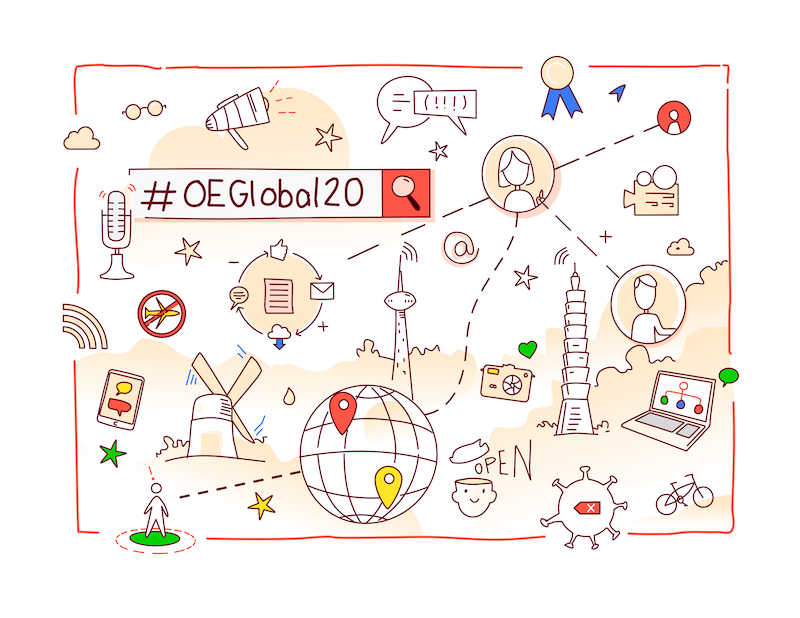 #OEGlobal20 - a virtual and open conference